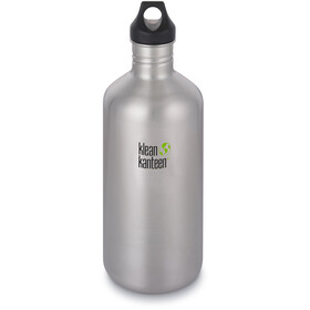 Klean Kanteen Classic Bottle Loop Cap 1900ml Brushed Stainless